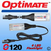 Optimate SAE-120 LED flashlight