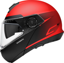 Schuberth C4 flip-up hjelm Resonance red