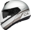 Schuberth C4 flip-up hjelm i Pulse silver