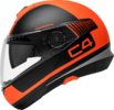 Schuberth C4 flip-up hjelm i Legacy Orange