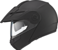 Schuberth E1 Enduro flip-up matsort styrthjelm