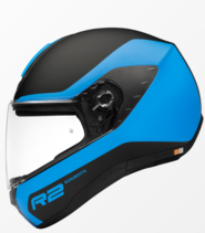 Schuberth R2 fullface hjelm i flerfavet